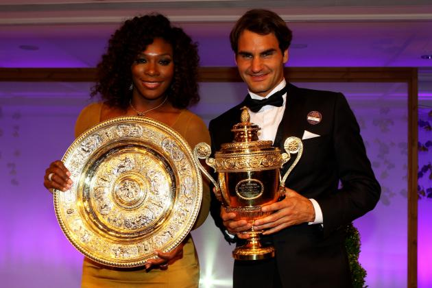 Wimbledon Tennis 2012: Analyzing Impact of Roger Federer & Serena Williams' Wins