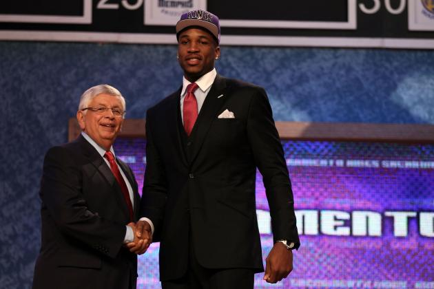 Kings Sign 2012 First-Round Draft Pick Thomas Robinson
