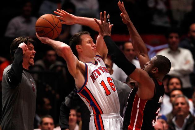 NBA Free Agency 2012: Knicks Foolish to Re-Sign Steve Novak Long-Term