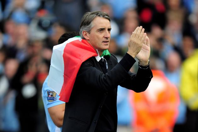 Roberto Mancini Pens New 5-Year Deal with Manchester City
