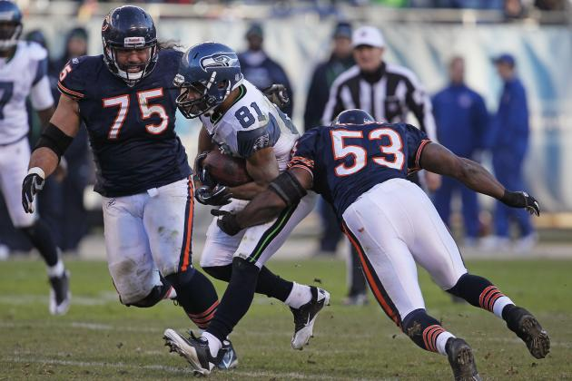 Chicago Bears Camp Battles:  Nick Roach vs. Geno Hayes