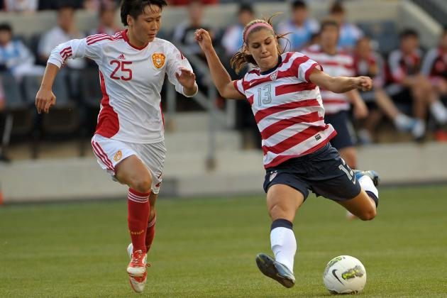 Alex Morgan: Hot Streak Never Ends for U.S. Women's Soccer Olympian