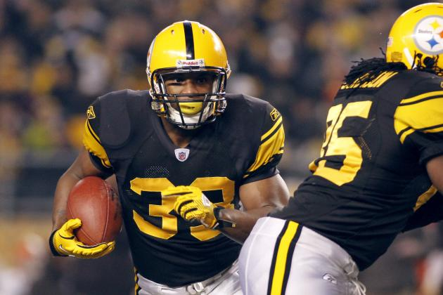 Pittsburgh Steelers 2012 Training Camp Preview: Running Backs