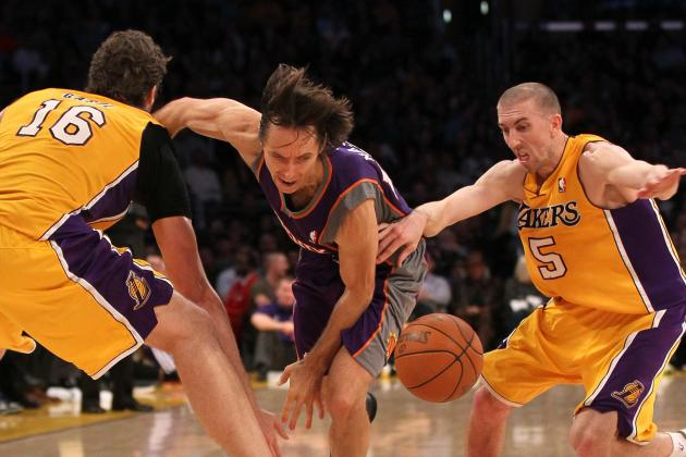 Steve Nash May Not Be the Answer the Los Angeles Lakers Are Looking for