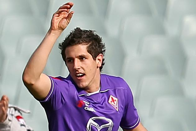 Arsenal Transfer News: Stevan Jovetic's Price Tag Reportedly Set by Fiorentina