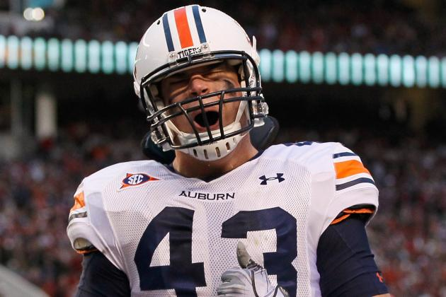 2012 Mackey Award Watch List: Auburn and Arkansas' TEs Are SEC Favorites