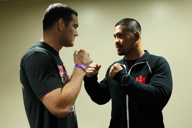 UFC on Fuel TV 4 Weigh-in Results for Mark Muñoz vs Chris Weidman Fight Card
