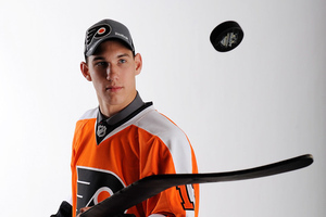 Flyers Prospect Larsson Is Already a Bully