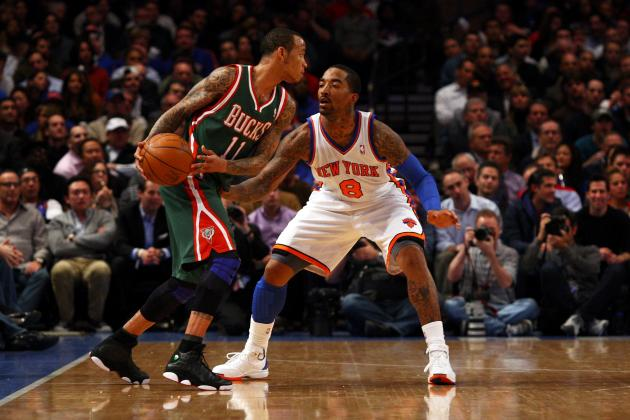J.R. Smith Re-Signs with the New York Knicks: $2.8 Million Over 2 Years