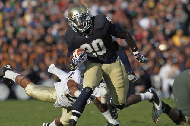 Notre Dame Football: Why Majority of Pressure Rests on RB Cierre Wood and Not QB