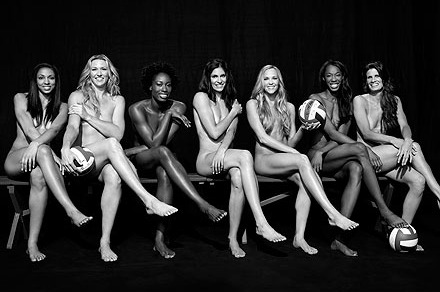 US Olympic Volleyball Team Body Issue: Early Look at the Girls of Summer