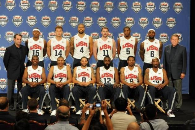 Team USA Basketball 2012: Stacked Roster Won't Miss Injured Stars