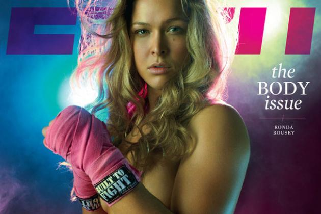 Ronda Rousey: Photos Show Why ESPN Body Issue Better Than SI Swimsuit Edition