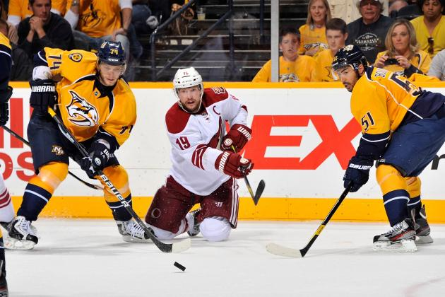 NHL Free Agency 2012: San Jose Sharks Sign TJ Galiardi, Is Shane Doan Next?