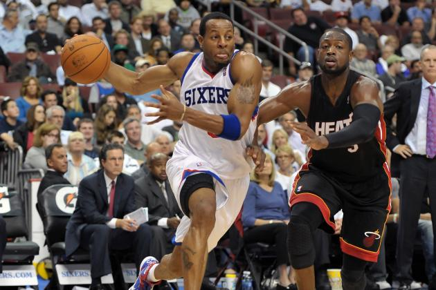 Andre Iguodala's Time in Philadelphia May Be Coming to an End