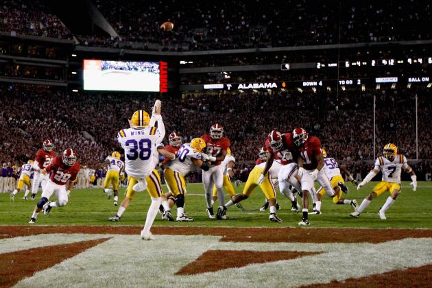 2012 Ray Guy Watch List: SEC Puts Its Best Foot Forward with LSU's Brad Wing