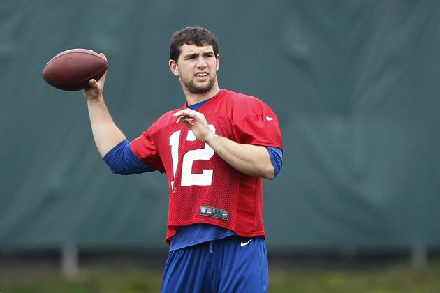 The Colts Should Let Andrew Luck Play Extra Snaps in the Preseason