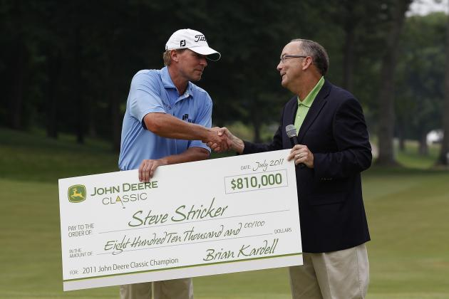 John Deere Classic 2012: Tee Times, Date and TV Schedule