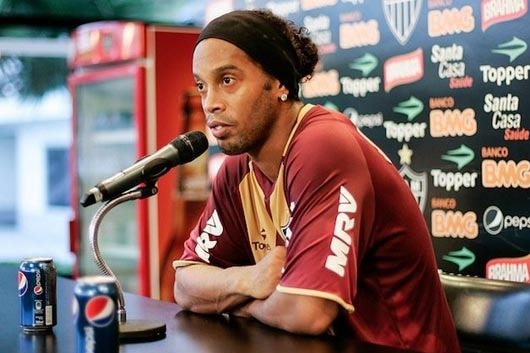 Ronaldinho Loses Millions from Coca-Cola After Ridiculous Pepsi Gaffe