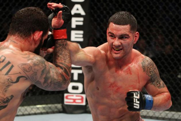 UFC Middleweight Chris Weidman: Everything You Need to Know About a Rising Star