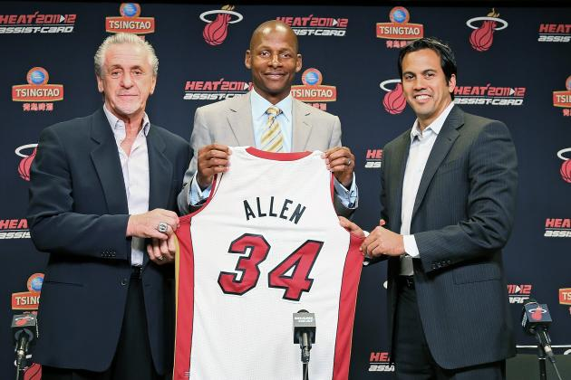 Ray Allen: 'Forever, I'll Always Be a Celtic'