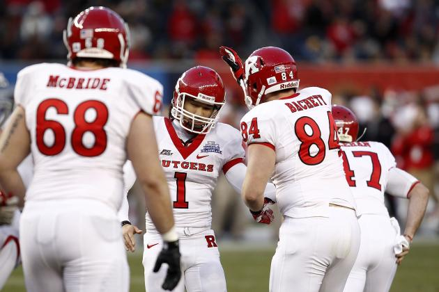 NCAA Football: Will Rutgers Apply for Membership in Big 12 Conference?