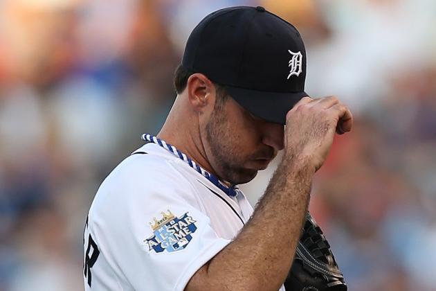 2012 All-Star Game: Justin Verlander Has Struggled to Pitch on the Big Stage