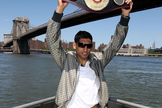 Amir Khan Reinstated as the WBA Light-Welterweight Champion