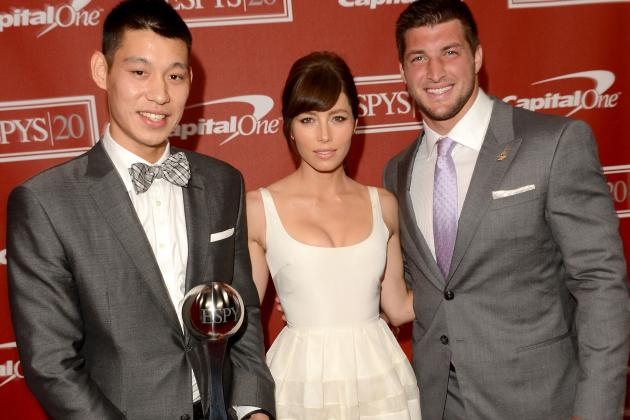 ESPY Awards 2012 Winners: Jeremy Lin Was Only Logical Pick for Breakout Athlete