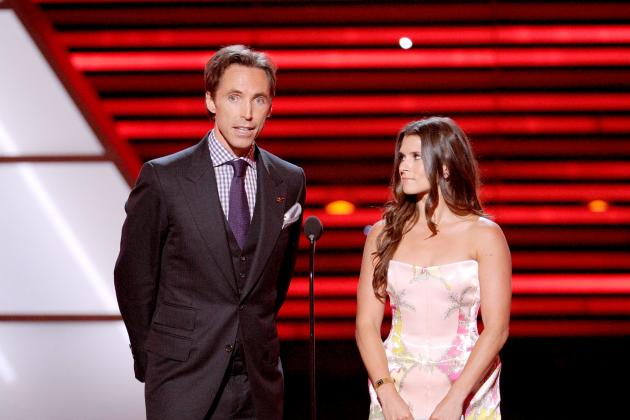 Steve Nash Is Toast of Tinseltown on First Official Day as a Los Angeles Laker