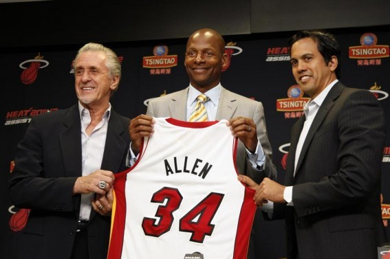Has Ray Allen Become the Boston Celtics Version of Johnny Damon?