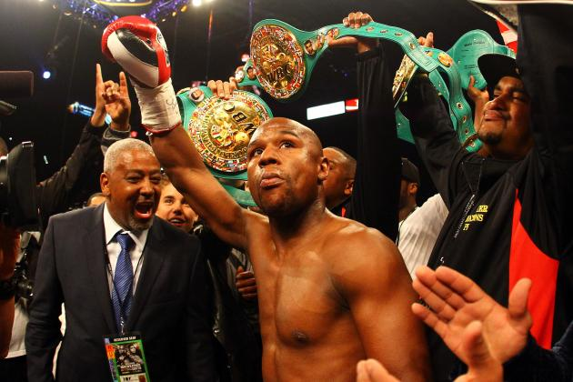 Floyd Mayweather Wins ESPY for 'Fighter of the Year' over Ward and UFC Stars