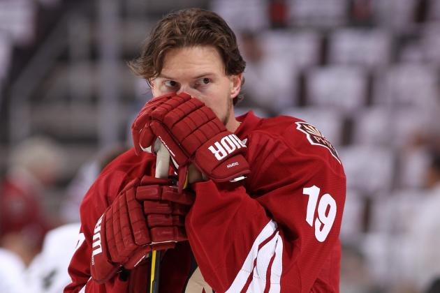 Detroit Red Wings Hoping to Win Shane Doan's Waiting Game