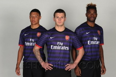 Arsenal's New Away Kit for 2012/13 Revealed