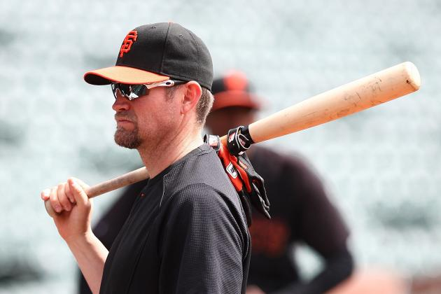 San Francisco Giants:  Is It the End of the Line for Aubrey Huff?