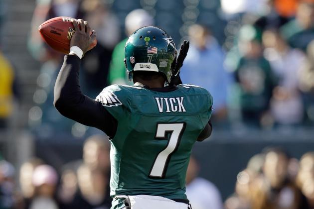 Vick 'Excited' About Eagles' Upcoming Season