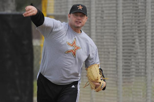 Roger Clemens Is Ready to Help the Astros Organization