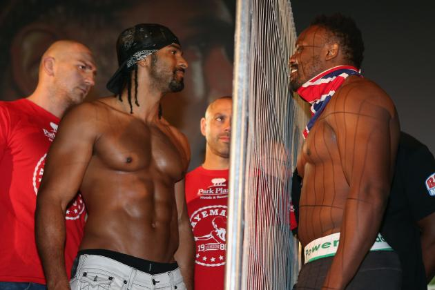 Dereck Chisora vs. David Haye: Bitter Bout Is Farce That Doesn't Deserve Hype
