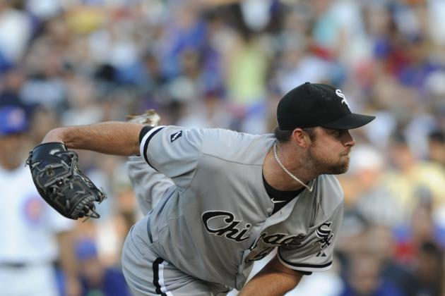 Chicago White Sox:  John Danks Is Forcing the Sox's Hand