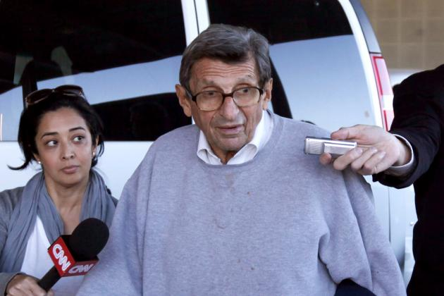 Joe Paterno's Grand Betrayal