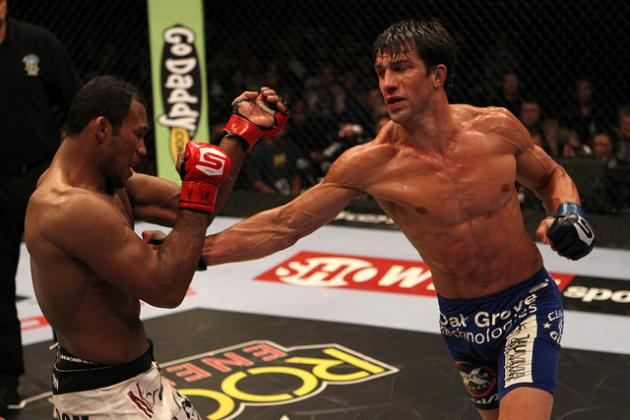 Luke Rockhold Hungry to Prove He's One of the Best Middleweights in the World