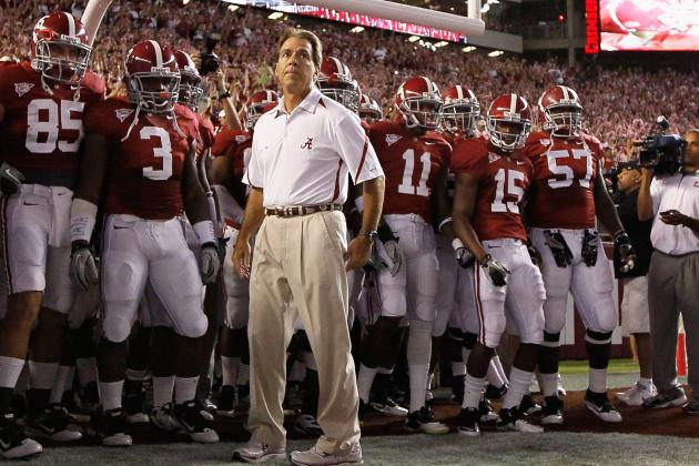 Alabama 2012: Nick Saban Is What Bear Bryant Was, Isn't He?