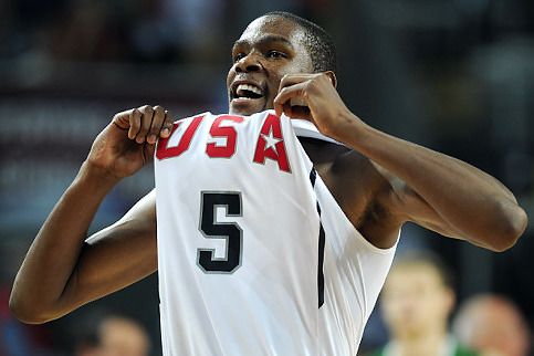 Supersub Kevin Durant Dominant in Team USA's Romp over Dominican Republic