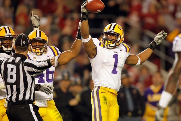 2012 Jim Thorpe Watch List: LSU's Reid and Mathieu Highlight SEC Favorites