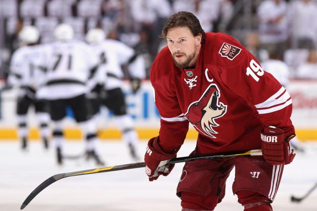 Maple Leafs Rumors: Toronto Faces Uphill Battle in Shane Doan Sweepstakes