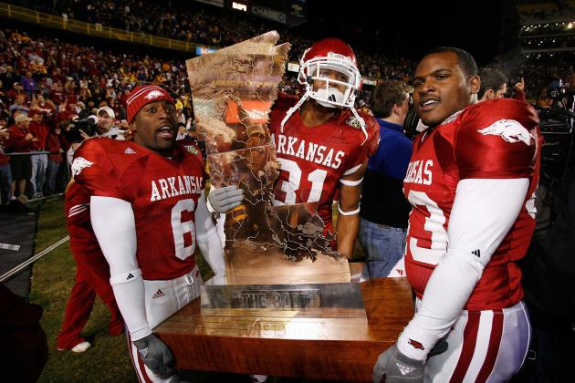 Classic SEC Football: Arkansas Tops LSU in Three Overtimes in 2007