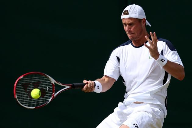 Lleyton Hewitt Advances to Hall of Fame Semis