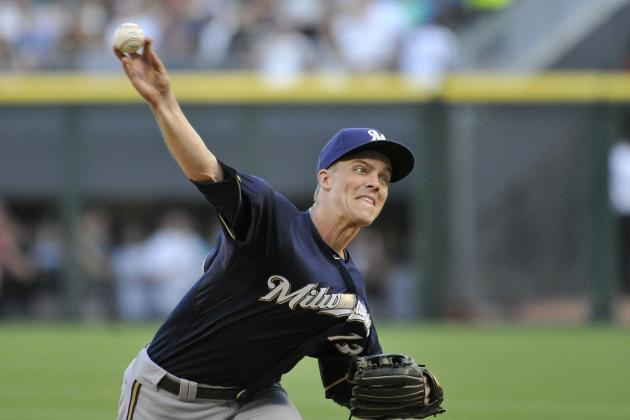 MLB Trade Rumors: Milwaukee Brewers Not Confident in Re-Signing Zack Greinke