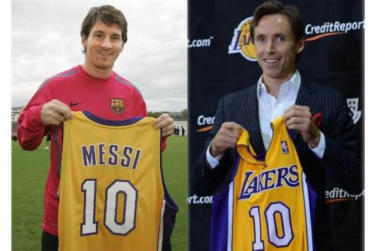 Steve Nash and Others Pay Tribute to Lionel Messi