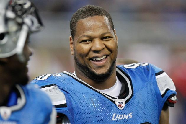 Nebraskans Still Hold Detroit's Ndamukong Suh in High Regard